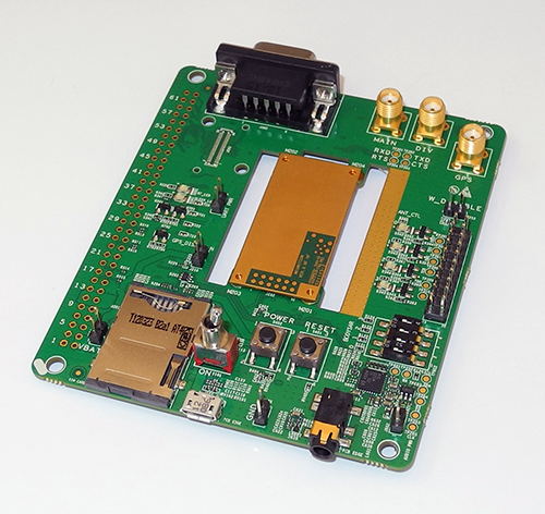 MU733 Dev Kit - Front