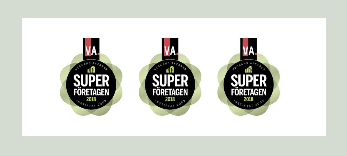 "Techship nominated to ""Superföretag"""