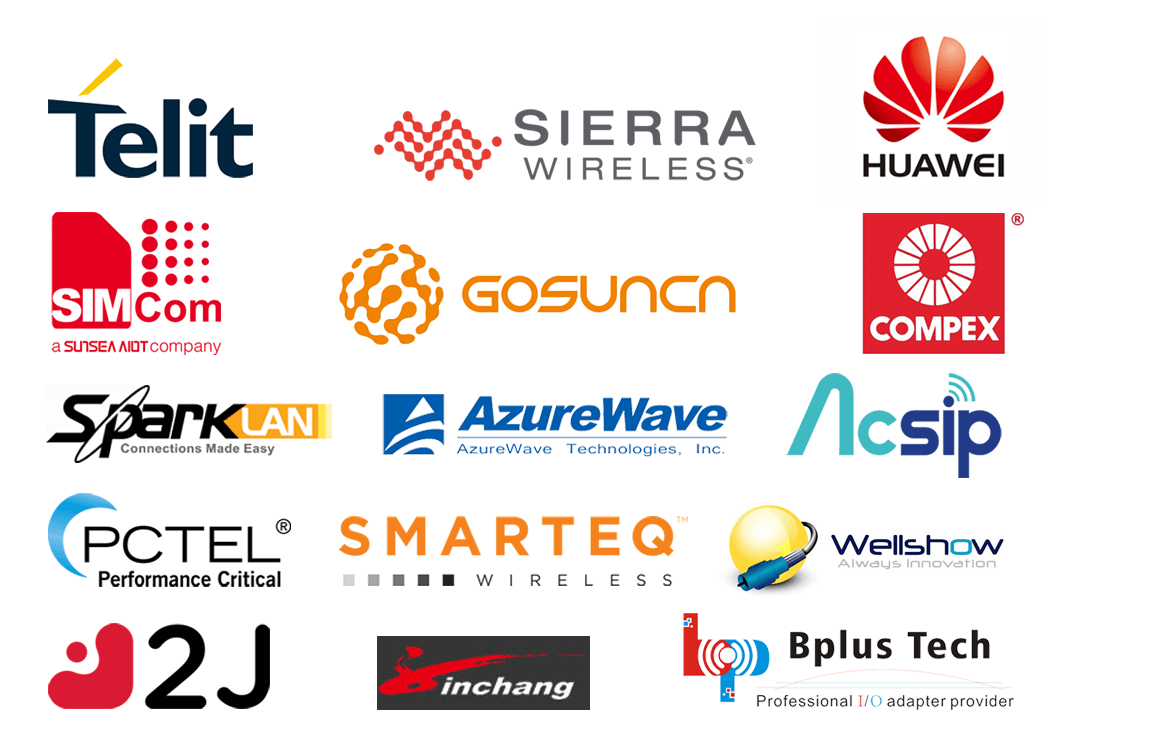 World leading suppliers
