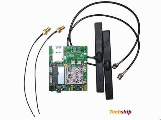 10509 Techship starter kit MU709 mounted