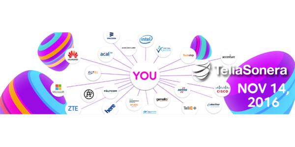 Techship exhibits at the Telia IoT Symposium 2016