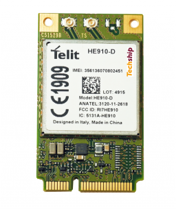 Techship - Telit HE910-D HSPA+, mPCIe Global, Rx Diversity, Data